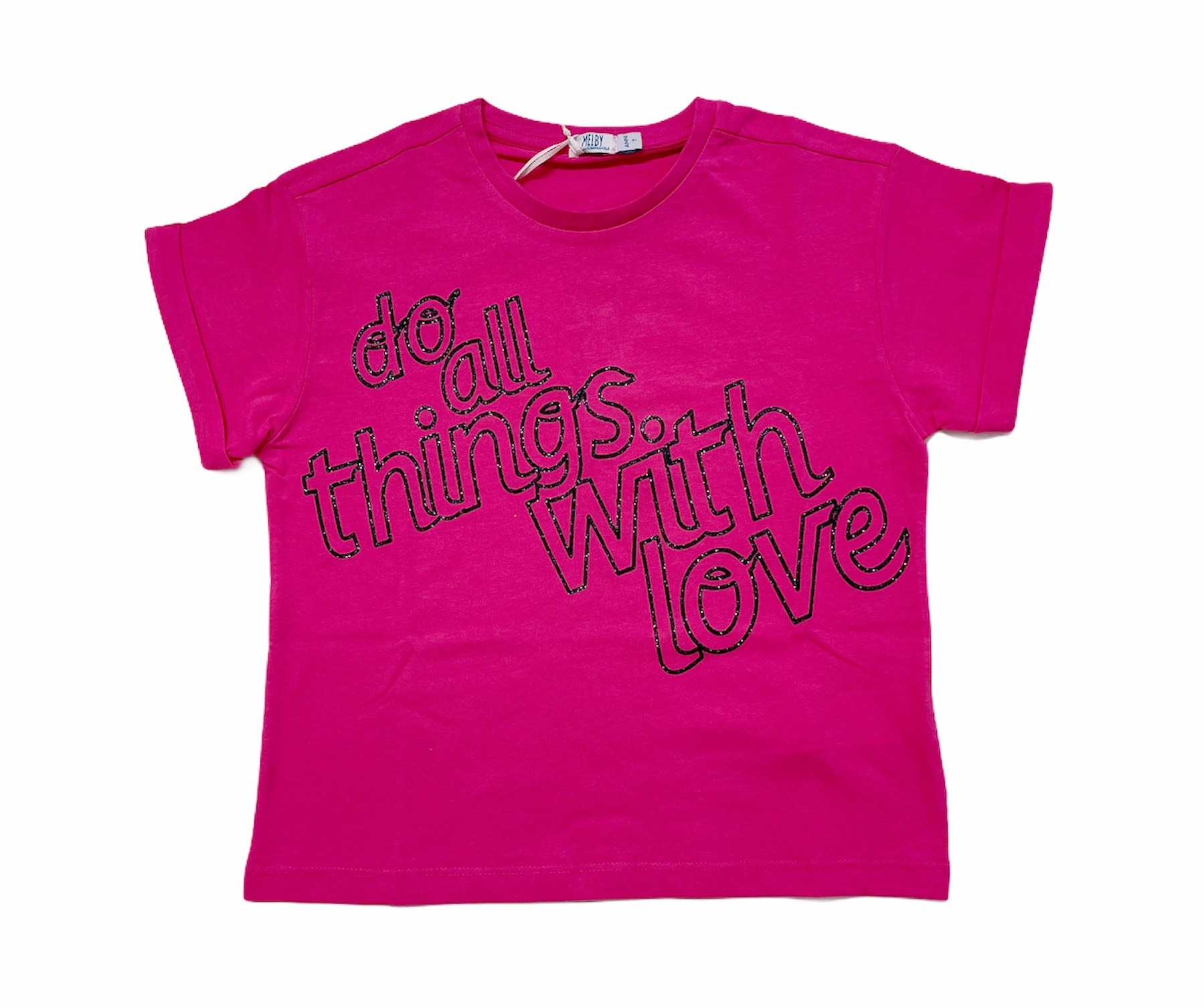 T-SHIRT MELBY DO ALL THINGS WITH LOVE M. CORTA 1
