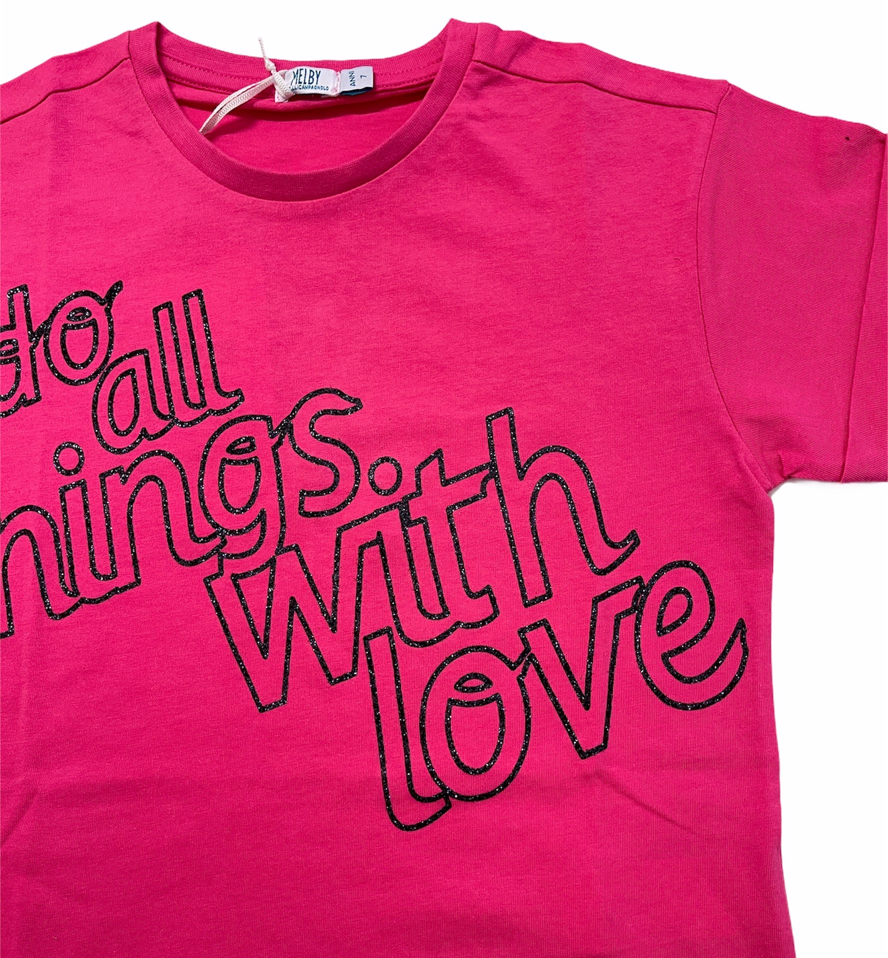 T-SHIRT MELBY DO ALL THINGS WITH LOVE M. CORTA 3