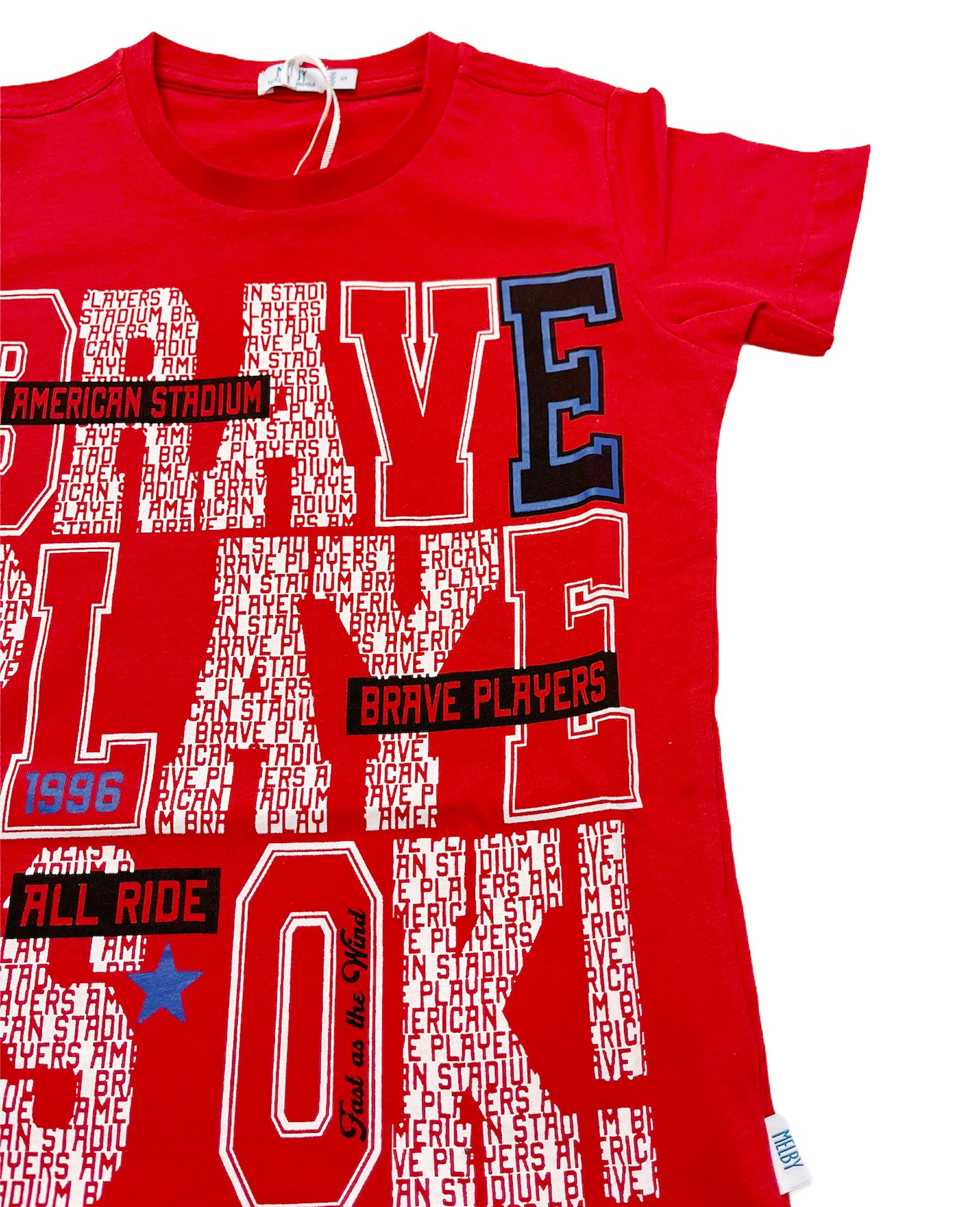 T-SHIRT MELBY ROSSA BRAVE PLAYERS 3
