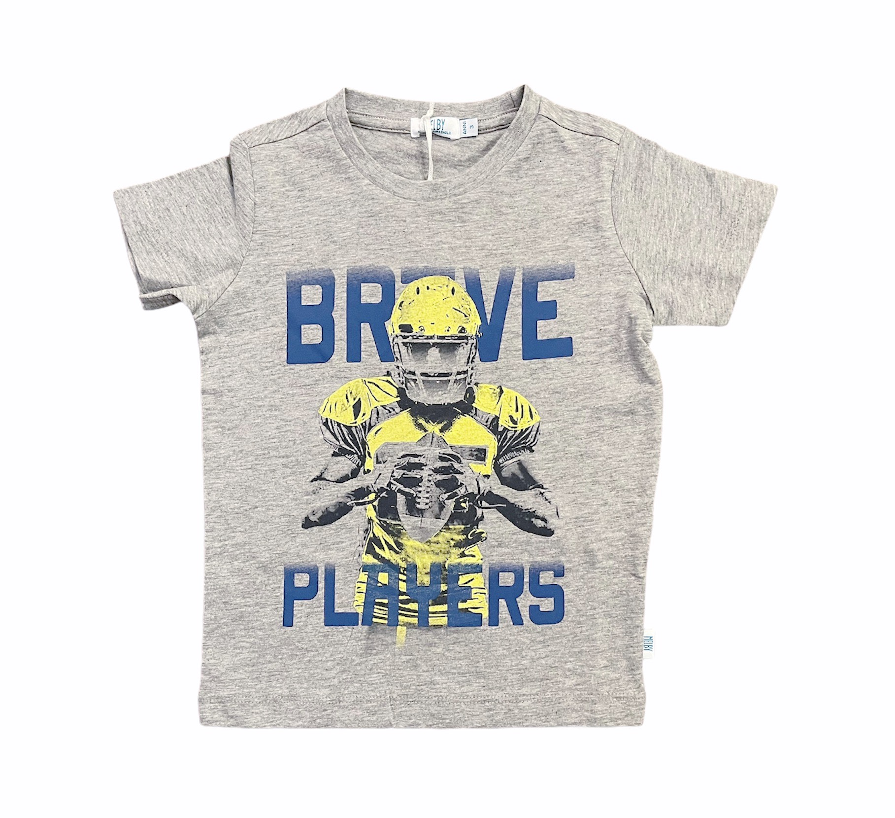 T-SHIRT MELBY BRAVE PLAYERS GRIGIO 1