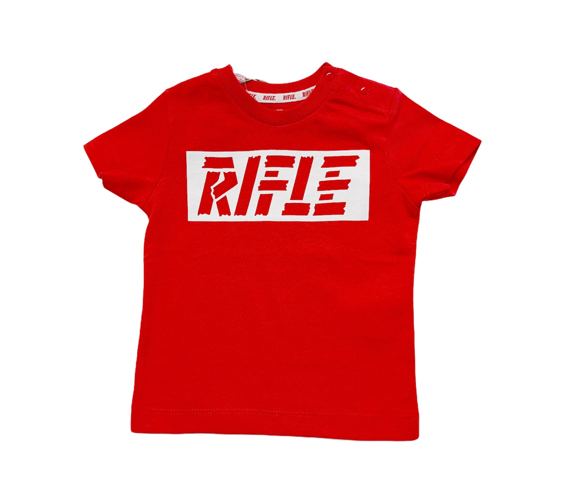T-SHIRT RIFLE ROSSO BABY 1